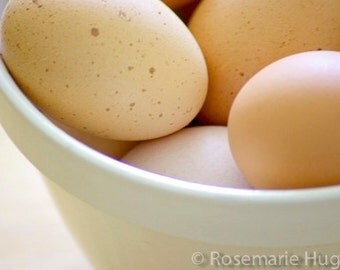 Brown Eggs - Original Fine Art Photograph - Eggs