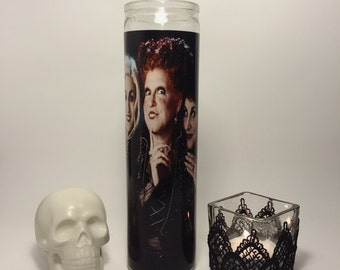 "Hocus Pocus ""The Sanderson Sisters"" Prayer Candle"