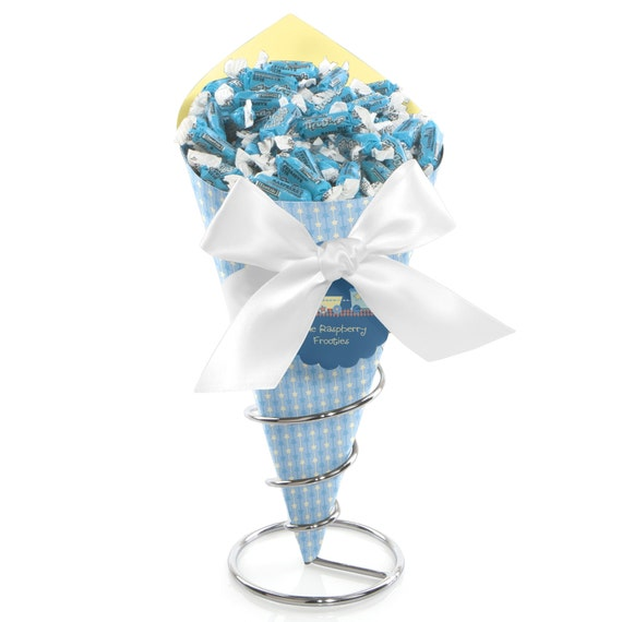 Train candy bouquet centerpieces baby showers