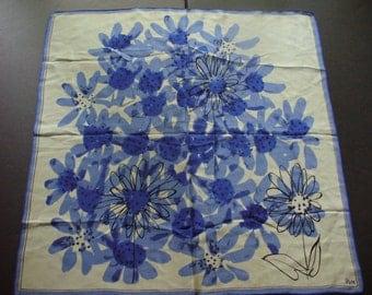 "Vintage Vera Neumann Scarf ~ 21""x21"" ~ Silk ~ Item # 40"