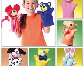 Butterick Sewing Pattern B4209 Animal Hand Puppets
