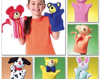 Kids' Hand Puppets Butterick Pattern B4209