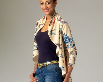 McCall's Pattern M7055 Misses' Vest and Cardigans