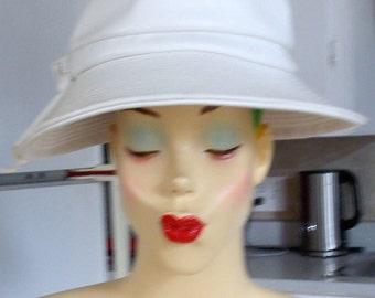 SALE Vintage 1960's Leather Hat