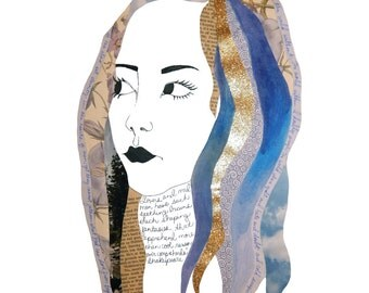 The Dreamer: 8.5x11 Print