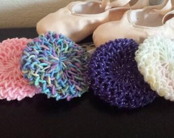 Bun cover/ballet bun net/choose a color!!!
