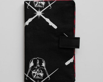 Passport Wallet, Travel Wallet, Travel Organizer, Passport Cover for 2 (Two), 3 (Three) or 4 (four) passports - Darth