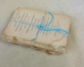 Vintage Book Stack