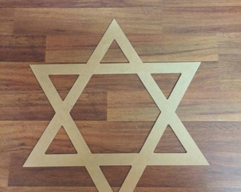 Unfinished Star of David