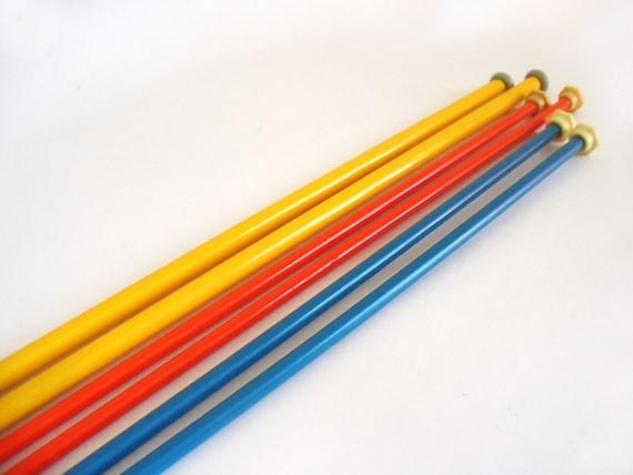 Vintage Knitting Needles : Vintage knitting needles pairs