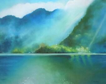 Austrian Mountain Print - 11x14