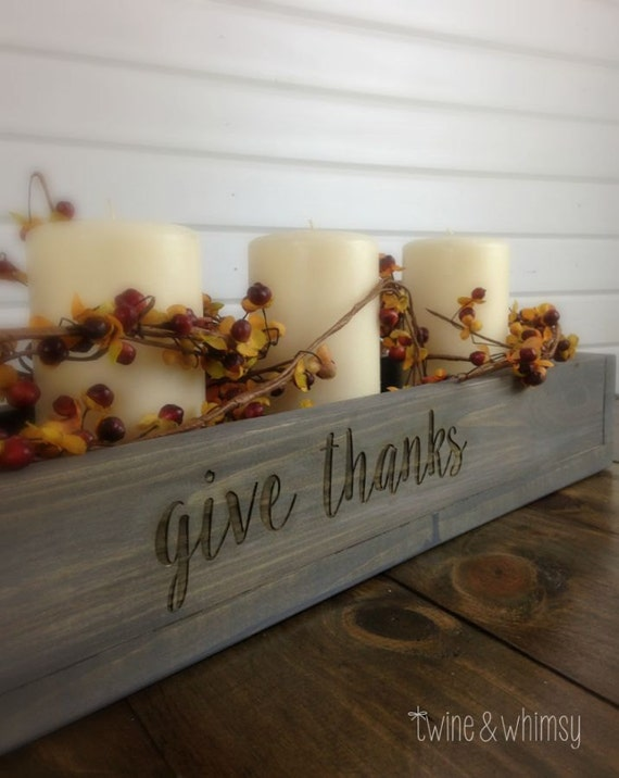 Items similar to planter box centerpiece engraved wood