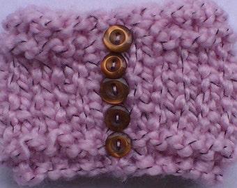 Knitted Wrist Cuff, Knitted Bracelet, Knit Jewelry, Unique Jewelry, Knit Cuff, Knit Bracelet, Boho Knit Wrist Cuff, Wrist Cuff