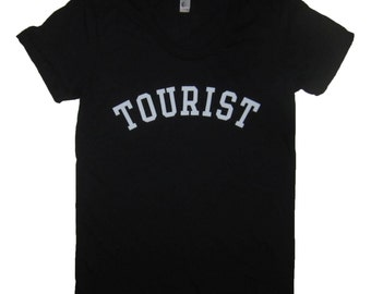 womens tourist t shirt funny cute vacation traveling novelty graphic humor tee cool awesome super soft vintage feeling top new