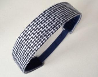 School Uniform Headband- Custom Plaid Uniform Headbands #20