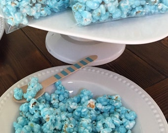 Candy Coated Popcorn Favors - 1 dozen