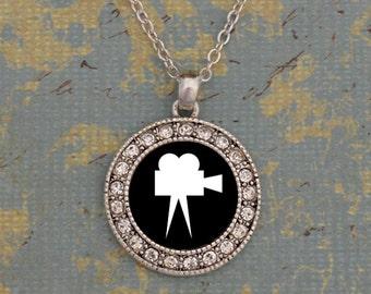Film Club Round Necklace
