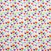 Heart Fabric - Multi Hearts by Timeless Treasures - 1/2 Yard