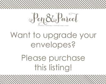 Envelope Upgrade Add-on Option