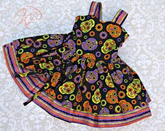 Childrens Halloween Dress Size 3T