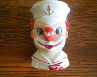 Inarco Japan Clown Sailor vase