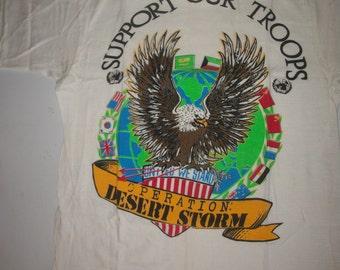 Desert Storm t shirt 1991