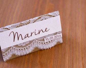 Brand - seater range  mariage dentelle 
