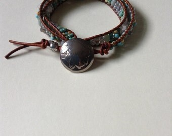 Wrap Gemstone Bracelet
