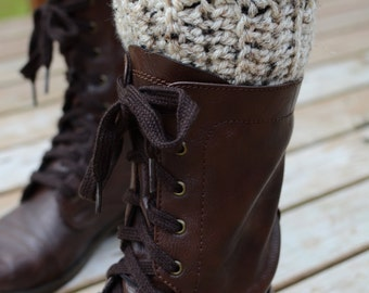 Crochet Boot Cuffs, Fall Boot Cuffs, Boot Cuffs, Autumn Boot Cuffs, Boot Toppers
