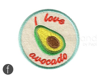 I love avocado Iron On Patch