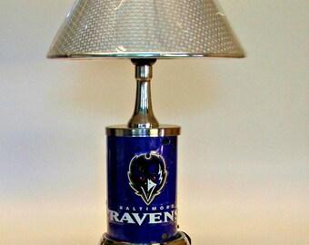 Baltimore Ravens Table Lamp