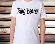 Ring Bearer T-Shirt - Boys T-Shirt - Ring Bearer Shirt - Ring Security Shirt - Ring Bearer Toddler T-Shirt