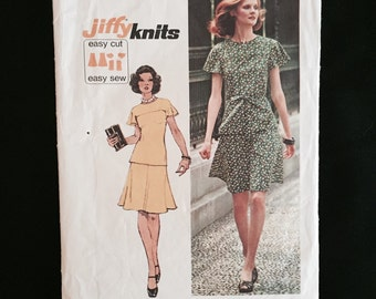 Vintage Women's Pattern, Simplicity Two Piece, 1973