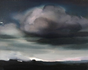 Beautiful Original Cloud Painting