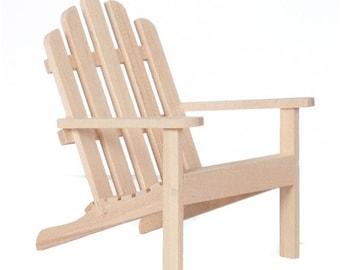 Miniature Adirondack Chairs Etsy