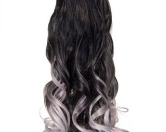 balayage dip dye 8a remy echthaar tunnelzug pferdeschwanz haar. Black Bedroom Furniture Sets. Home Design Ideas