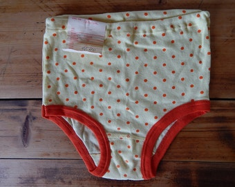 Soviet Girls Teenagers Vintage Underwear Unused Vintage Underwear  Underpants 100% Cotton Made in USSR era NOS