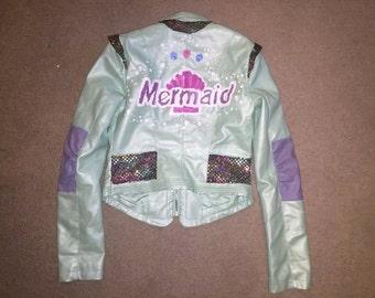 Mermaid Painted Jacket