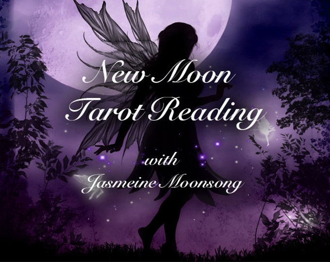 Featured listing image: New Moon Tarot Reading