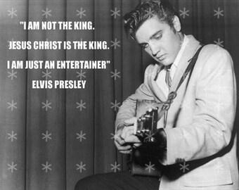 Fabric Art Quilt Block * Elvis Presley * EP55- FREE SHIPPING