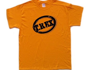 T REX / MARC BOLAN screen printed tribute T Shirt