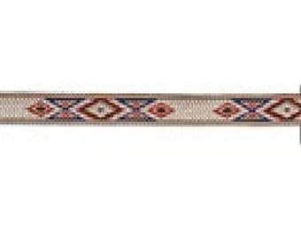 Hitched Webbing Prarie Dust by Tandy Leather 7369-02