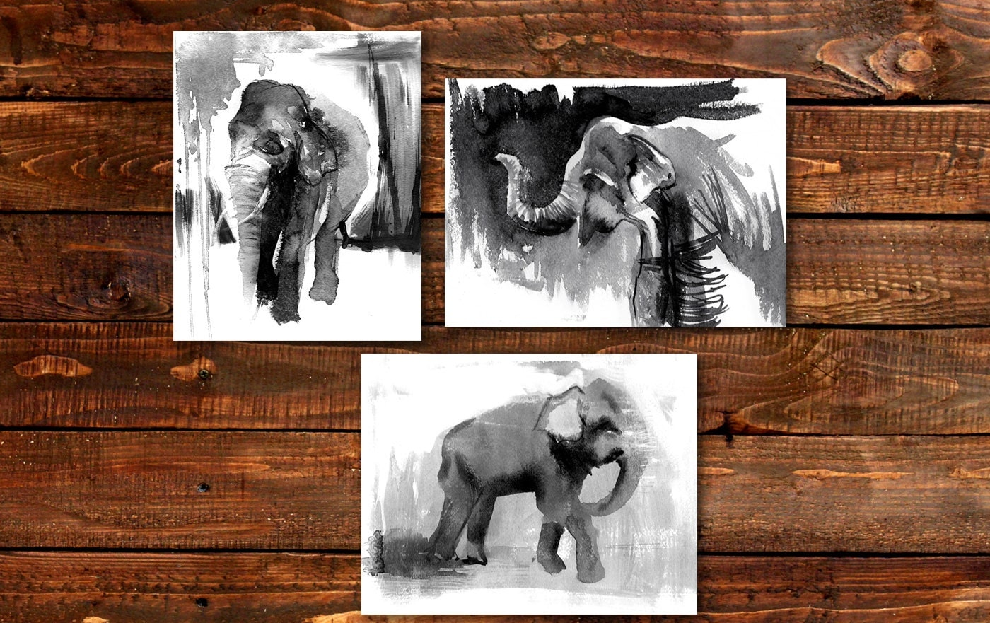 Elephant decor african art girl room elephant elephant African elephant home decor