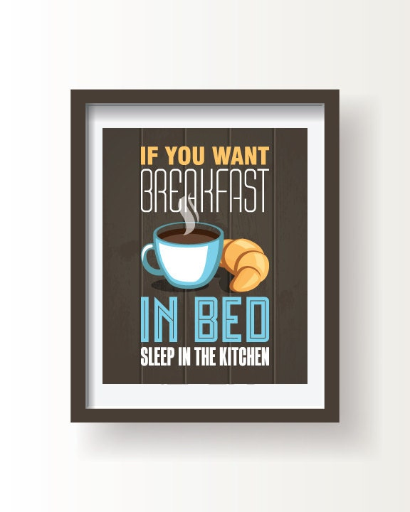 funny kitchen decor kitchen print kitchen wall art