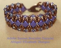 Adobe Sunset Bracelet Tutorial-Personal Use