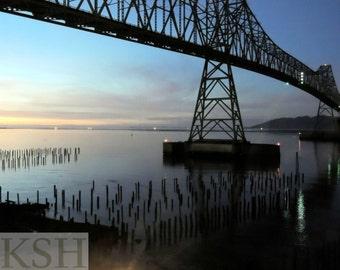 Astoria Bridge Sunset