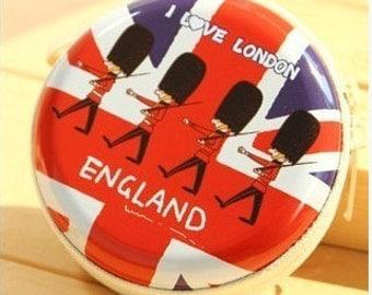LONDON coin pause, earphone case