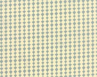 Tiki Tok Fabric, Totem Diamonds in Slate.  Mid Century Modern Fabric for Moda by Jenn Ski.