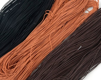 Fabric Cord for Cell phones decoration, 3m(3.2yd), Necklace items,Necklace supplies, Leather craft tools MLT- P00000YF