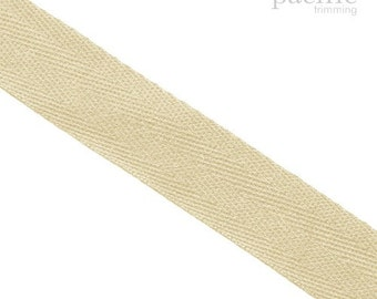 25mm 100% Cotton Webbing :360038WB